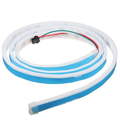 Für Lkw Heckklappe Licht-bar (MASUNN 12V 150Cm Flow Art LED-Streifen Heckklappe Blinker Ampel Bar Trunk Streifen Lampe)