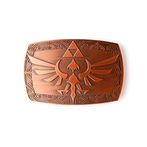Nintendo Grtelschnalle Zelda Logo Patina