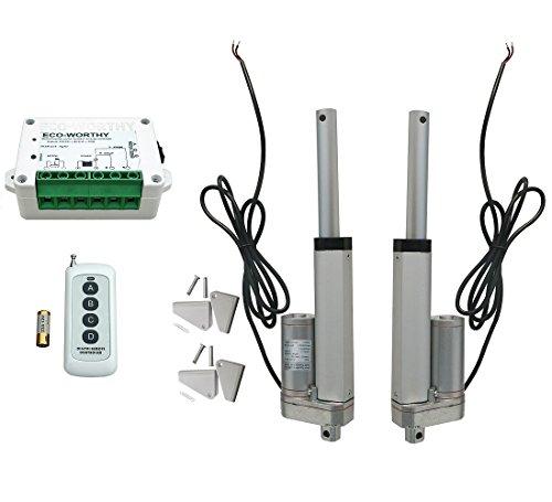 ECO-WORTHY-2pcs-4681012141618-pulgadas-Heavy-Duty-lineal-actuador-Motor-de-12-V-1500-N-mando-a-distancia-inalmbrico-soportes