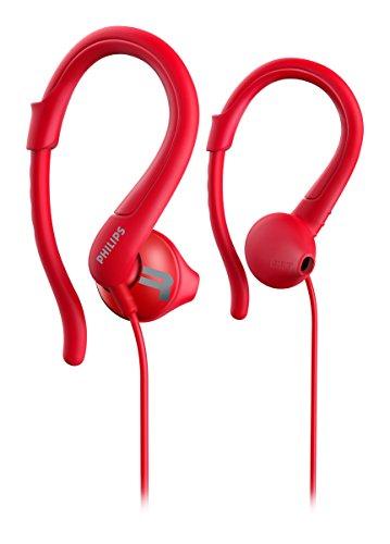 Philips ActionFit shq1250trd/27Red intraaural Ohrbügel, in-Ear Headphone-Headphones (intraaural, Ear-Hook, in-Ear, 15-22000Hz, 10mW, 106dB, 32Ohm) - Philips Ear-hook