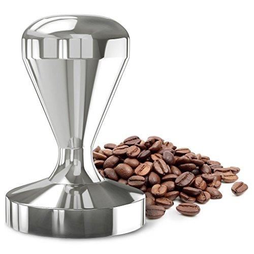 Prensador de café. Diámetro de 49 mm. Acero inoxidable.