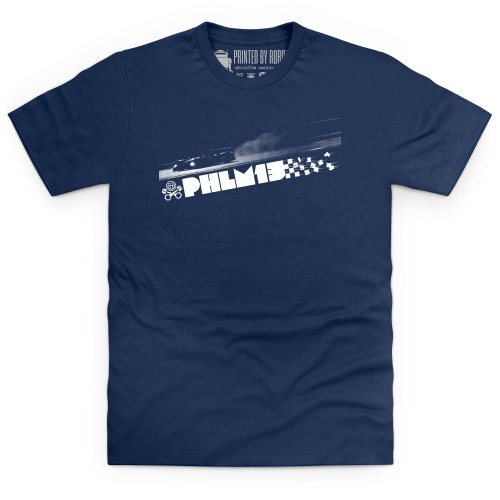 PistonHeads PHLM13 After Dark T-Shirt, Herren Dunkelblau