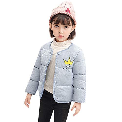 TEBAISE Ugly Weihnachten Baby Winter Jacke Jungen Mädchen Mäntel mit Kapuze Herbst Winter Wattierte Jacke warme Steppjacke Weihnachten Baby Kleid Outfit