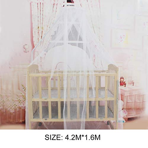 Kids Room Bedding Mosquito Net Romantic Round Bed Mosquito Net Bed Cover Hung Dome Bed Canopy Prevent Mosquitoes Insects Dust Exquisite Craftsmanship; Mother & Kids Baby Bedding