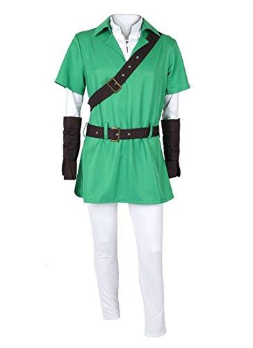 Zelda Kinder Of Kostüm Legend Link - Zelda Kostüm von Link Größe: S