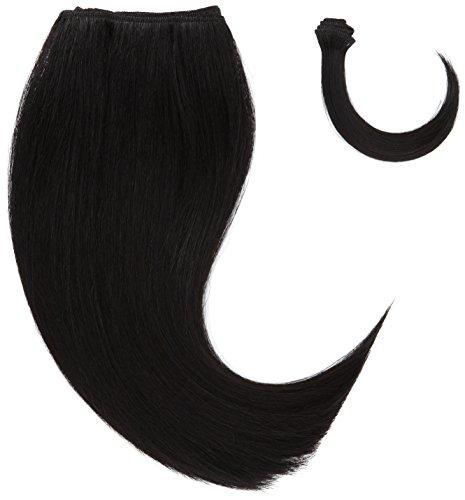chear Silky Yaki Straight veri capelli umani estensione con Premium Tessuto misto, numero 1, colore: (Di Yaki Dei Capelli Umani Weave)