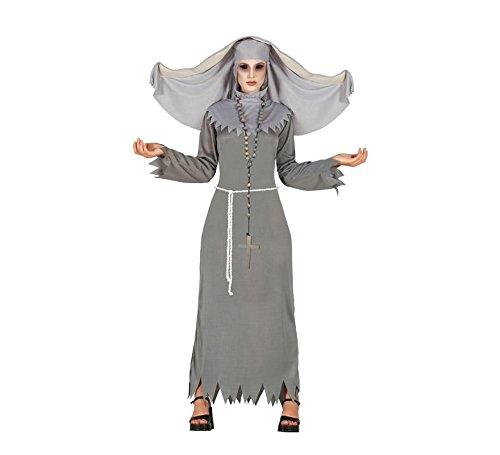Nonne Kostüm Böse - Besessene Nonne Damen Kostüm Gr. M/L, Größe:M
