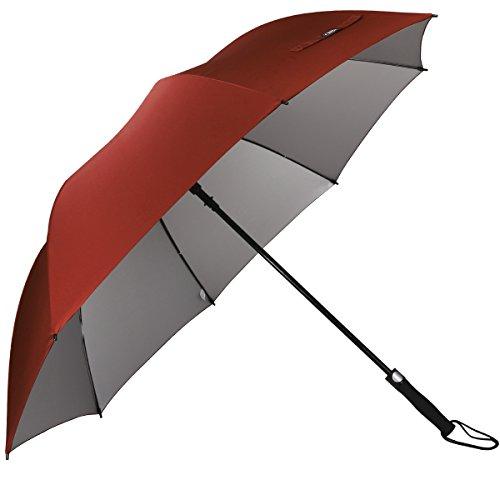 G4Free Grand Parapluie de Golf,Parapluie Grande Taille 60 Pouce Solide - Elégant Parapluie pour...