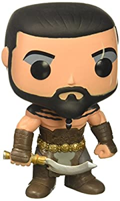 POP Game of Thrones Khal Drogo Vinyl Figure