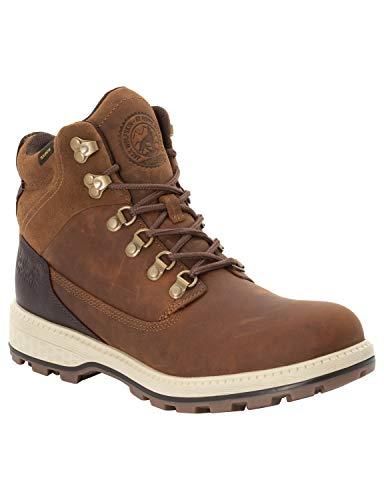Jack Wolfskin Herren Jack Texapore MID M Wasserdicht Combat Boots, Braun (Desert Brown/Espresso 5213), 42.5 EU