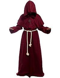 584ce43873cc Amayar Friar - Costume da monaco medievale rinascimentale