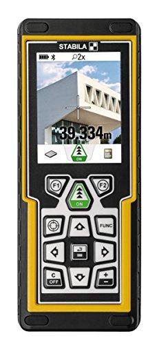 STABILA Laserentfernungsmesser LD520 mit Kamara und Bluetooth und App, Reichweite bis zu 200 m