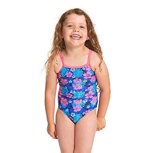 Zoggs Mädchen Kona Yaroomba Floral Badeanzug, Mehrfarbig, 6 Jahre -