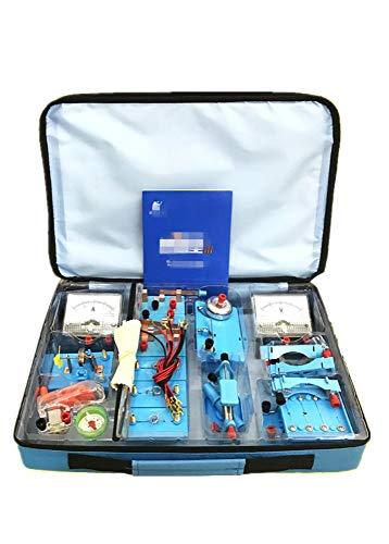 juler Jouets éducatifs STEM Toys Kits scientifiques Junior High School Physics Electrical Experiment Equipment Box Electrical Experiment Box,Blau,Einheitsgröße