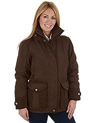 Sherwood Forest Marton de las mujeres chaqueta, mujer, color Chocolate/Brown, tamaño 8
