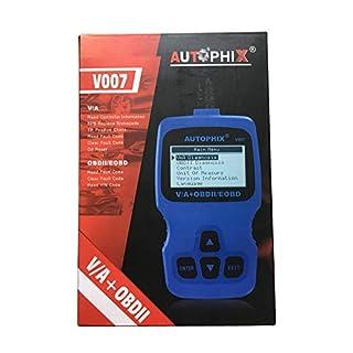 LHZTECH Autophix V007 Auto-Diagnose-Scanner, ABS, SRS Öl-Service-Reset-Tool OBD2 Automotive Scanner ODB