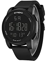 Men Sports Watch Multi Function Military LED Dual Movement Digital Wrist Watches by LuckUK