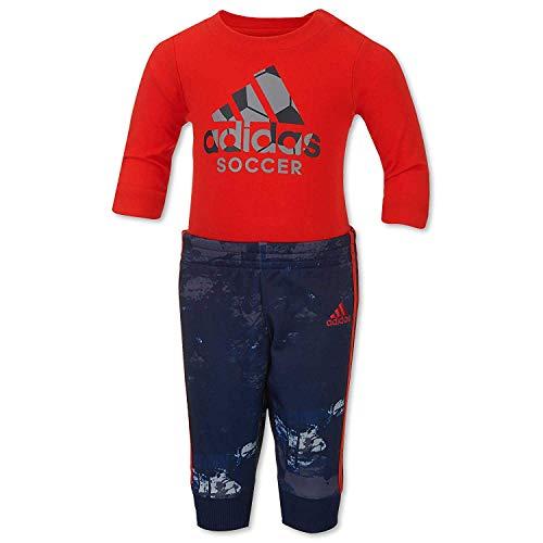 b8e01126d2e86 adidas Little Boys` Game Changer 2-Piece Bodysuit and Jogger Pant Set (3
