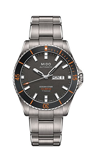 MIDO MEN'S OCEAN STAR CAPTAIN 42MM AUTOMATIC ANALOG WATCH...