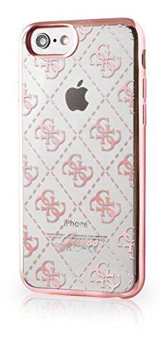 Guess GUHCP7TR4GRG 4G TPU Schutzhülle für Apple iPhone 7 rose gold rose gold