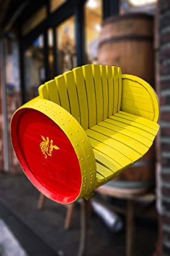 Cheeky Chicks Véritable Rustique Whisky Tonneau Repurpose / Upcycle pour Créer Tables, Eau Butts, Pots de Fleurs