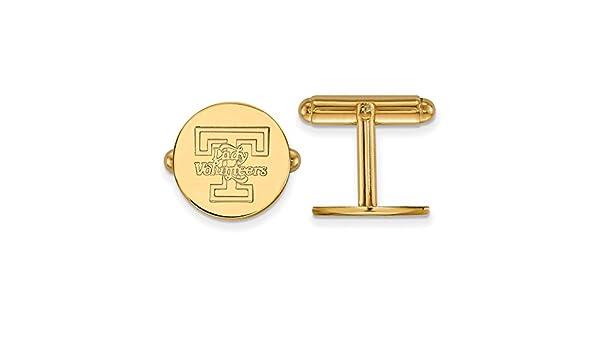 Lex /& Lu LogoArt 10k White Gold University of Delaware Medium Pendant