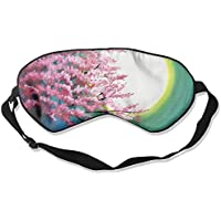Eye Mask Eyeshade Painting Moon Tree Sleep Mask Blindfold Eyepatch Adjustable Head Strap preisvergleich bei billige-tabletten.eu