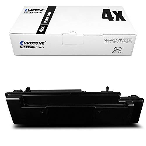4x Müller Printware cartuccia del toner per Kyocera FS 3040 3140 3540 3640 3920 MFP DN Plus sostituisce 1T02J10EU0 TK350