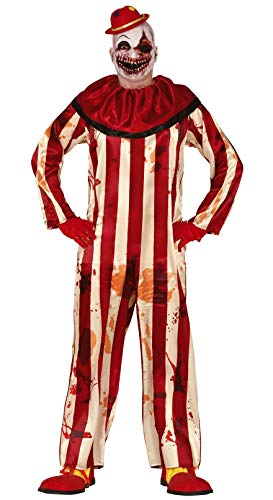 Männer Clown Mörder Kostüm - Fiestas Guirca Clown Clown Mörder Kostüm für Horror Mann Verkleidung