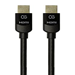 Premium High Speed HDMI Cables with Certification Label, 20 Feet Black, Omnigates