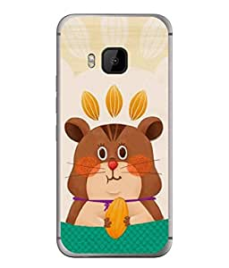 PrintVisa Designer Back Case Cover for HTC One M9 :: HTC One M9S :: HTC M9 (Cartoon Picture Drawing Sketch Colourful)