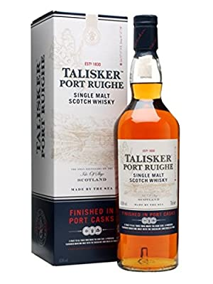 Talisker Port Ruighe Single Malt Scotch Whisky 70cl Bottle