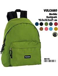 Preisvergleich für Montichelvo Montichelvo Backpack Pr Vulcano Green Schulranzen, 43 cm, Grün (Green)