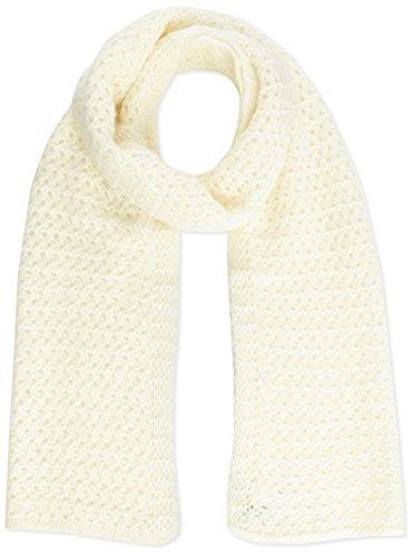 benetton-plain-knit-chiunky-scarf-sciarpa-da-donna-avorio-cream-unica-taglia-produttore-unica