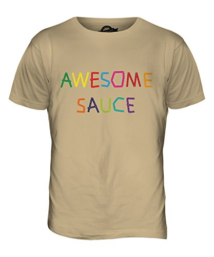 CandyMix Awesome Sauce Herren T Shirt Sand