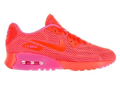 Nike W Air Max 90 Ultra Br, Scarpe da Ginnastica Donna, Nero Arancione