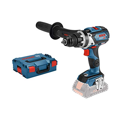 Bosch Professional Perceuse-visseuse Sans Fil GSR 18V-85 C (18V, Ø de vissage maxi. : 12 mm, Couple maxi. : 110 Nm, L-BOXX, Sans batterie)