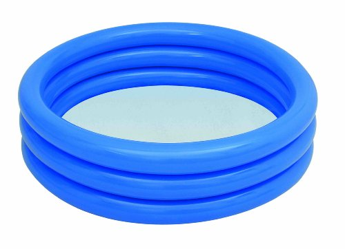 Bestway 51025B - Planschbecken Splash and Play 3-Ring- Pool, circa 122 x 25 cm (farblich sortiert )