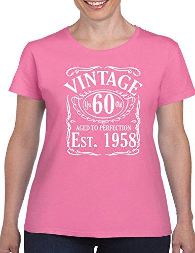T-Shirt Printing 4 U Damen T-Shirt Fuchsia