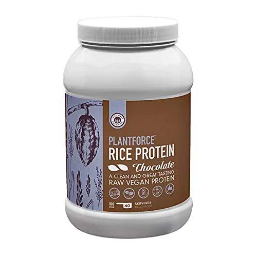 Reisprotein Schokoladengeschmack - Plantforce Rice Protein