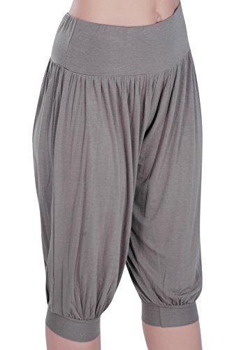 Eyecatch - Sofia Aux Femmes Plus Grande Taille Harem Short Dames Pantalons Tondu Pantalon Kaki