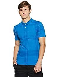 Easies Men's Solid Slim Fit T-Shirt