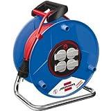 Brennenstuhl Kabeltrommel Garant Bretec 4-fach 50m H05VV-F 3G1,5 Kabelfarbe rot