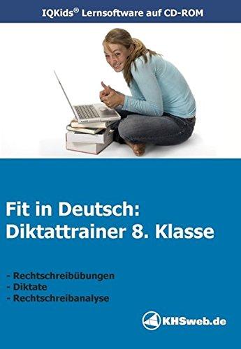 Fit in Deutsch - Diktattrainer 8. Klasse