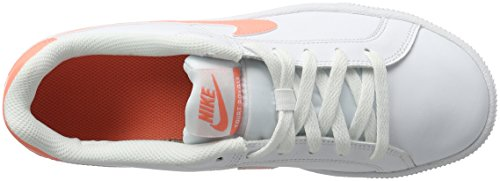 Nike Damen Wmns Court Royale Turnschuhe Elfenbein (White/Atomic Pink)