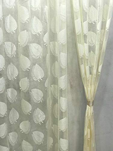 check MRP of cream colour curtains RIDHAAN