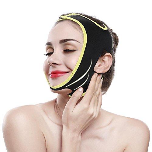 Adelgazante Facial Máscara Vendajes Cara Adelgazar