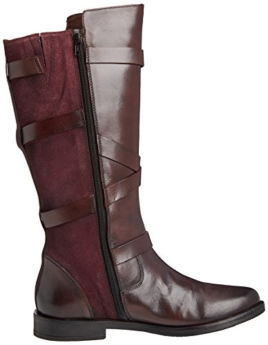 Lotus Rydel, Stivali Donna Rosso (Red (Bordeaux))