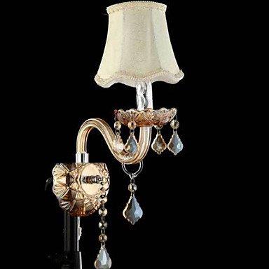 YYHAOGE Protection Oculaire/Modernes Appliques Contemporaine &Amp ; Pour Les Appliques Murales Chambre Crystal Light 220V 40W