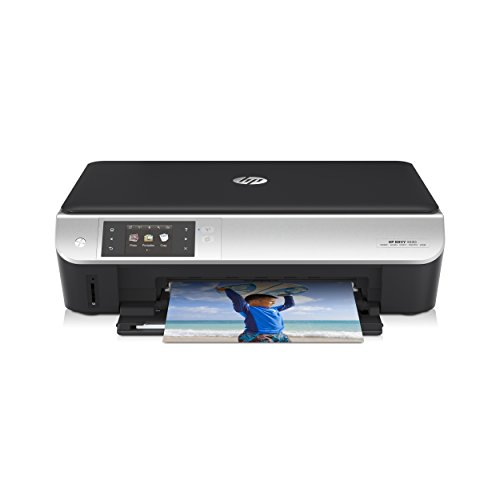 HP Envy 5530 All-in-One Multifunktionsdrucker (Scanner, Kopierer, Drucker, WiFi, 4800x1200 dpi, USB 2.0) schwarz/silber
